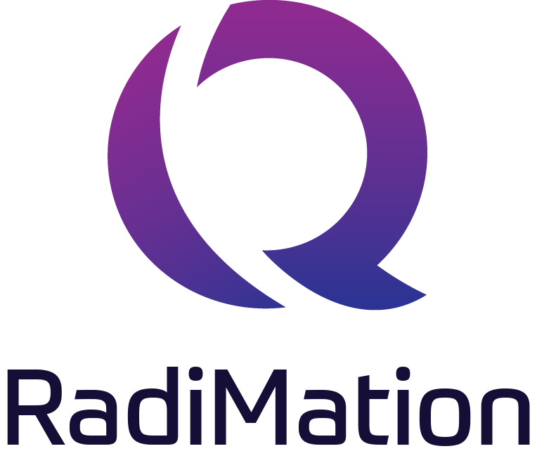 Raditeq Logo Standard vert. RadiMation®