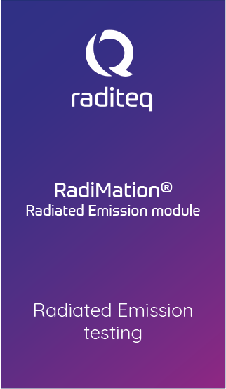 RadiMation® Radiated Emission